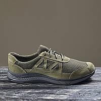 Армейские кроссовки тактические зеленые