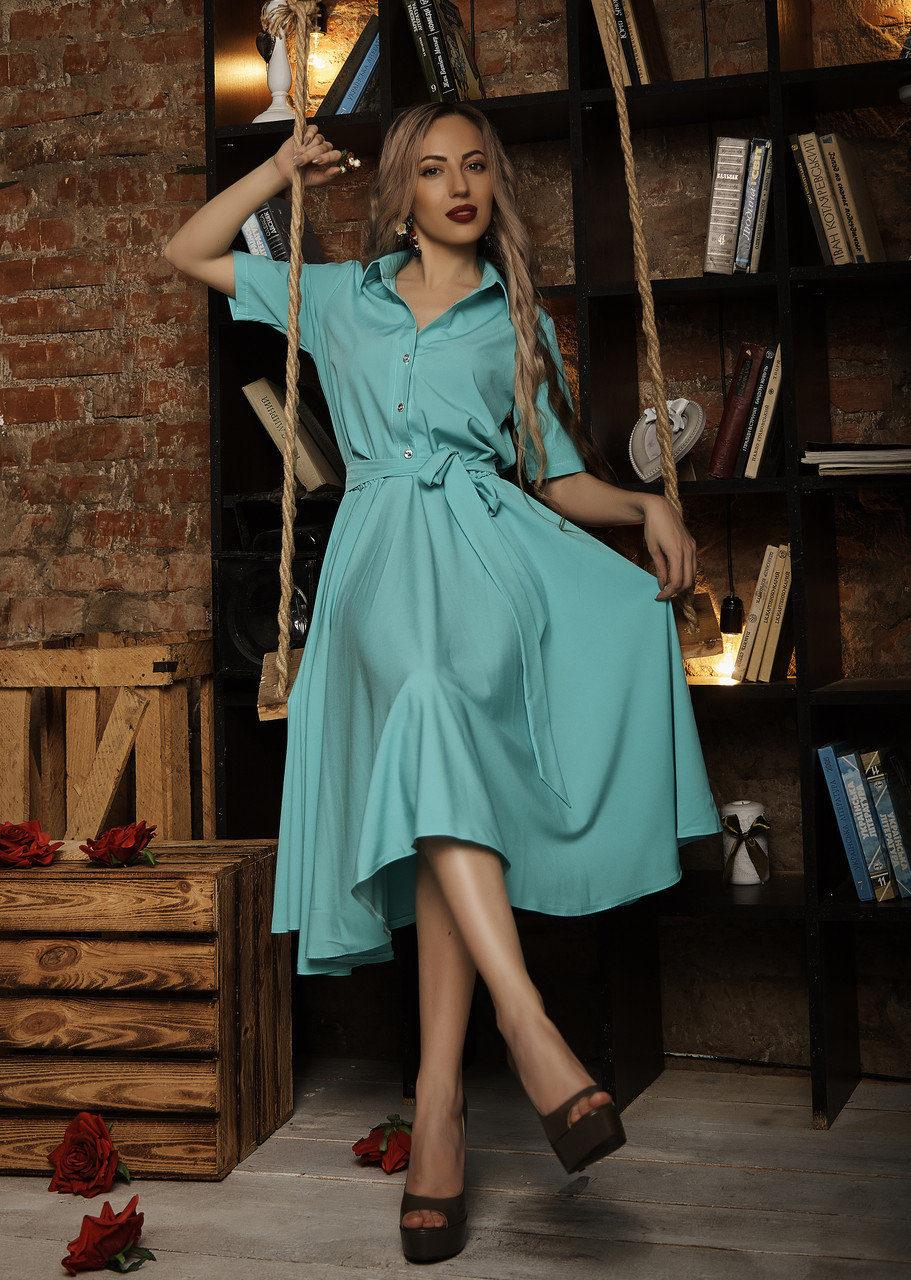 Милое платье стильного кроя