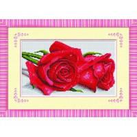 """""""Валентинка с красными розами"""" Набор для рисования камнями"""