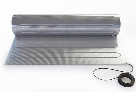 Теплый пол - Тонкий нагревательный мат «Теплолюкс» ALUMIA 525 - 3,5, (150Вт/м2) , фото 2