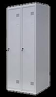 Шкаф для одежды на два человека ШОМ 2/80 разборной (толщина 0,5 мм)(1800х800х500)