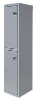 Шкаф для одежды на два человека ШОМ 2/30 разборной (толщ.0,5 мм)(1800х300х500)