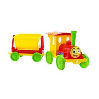 Поезд-конструктор (красно-желтый) 013115/03
