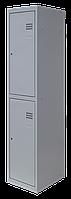 Шкаф для одежды на два человека ШОМ 2/40 разборный (толщ.0,5 мм)(1800х400х500)