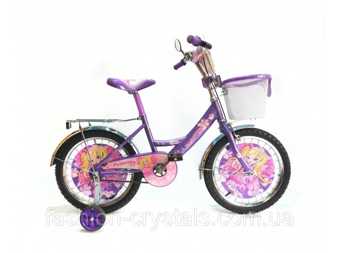 """Детский велосипед Princess 18"""", фото 1"""
