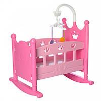 Кровать для куклы (Baby Born) с мобилем
