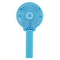 Вентилятор ручной mini FAN 2. Портативный ручной или настольный мини вентилятор с USB, фото 1