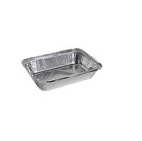 Контейнер из пищевой алюминиевой фольги 320мл (SP M2L) 100шт / уп (227 * 177 * 30мм.)