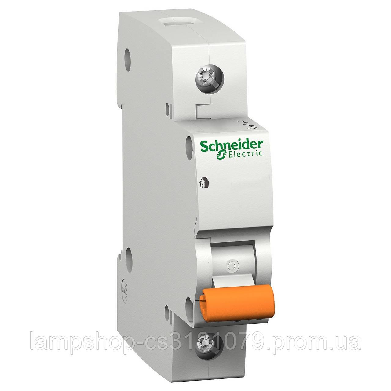 Автоматический выключатель ВА63 1П 40A C 4,5 кА, Болгария/Италия