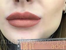 Aden Жидкая устойчивая помада Liquid Lipstick (02/Coffee Latte) 7 ml, фото 3