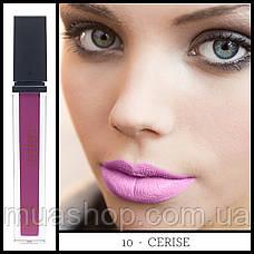 Aden Жидкая устойчивая помада Liquid Lipstick (10/Cerise) 7 ml, фото 2