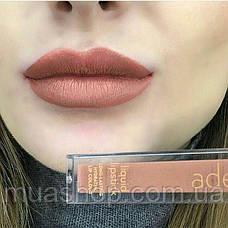 Aden Жидкая устойчивая помада Liquid Lipstick (18/Ottawa Garnet) 7 ml, фото 3
