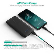 Внешний аккумулятор RavPower Power Bank 10000mAh Quick Charge 3.0 Black (RP-PB077BK), фото 2