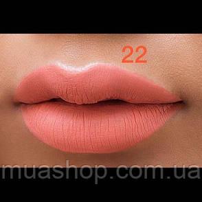 Aden Жидкая устойчивая помада Liquid Lipstick (22/Happy Orange) 7 ml, фото 2