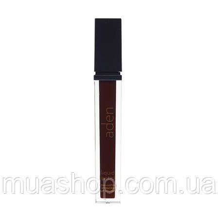 Aden Жидкая устойчивая помада Liquid Lipstick (24/Mahogany) 7 ml, фото 2