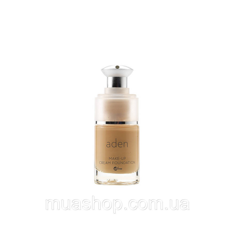 Aden Тональная основа 222 Cream Foundation (02/Natural) 15 ml
