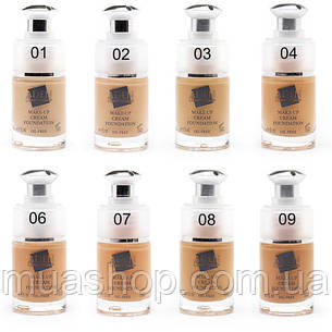 Aden Тональная основа 222 Cream Foundation (02/Natural) 15 ml, фото 2
