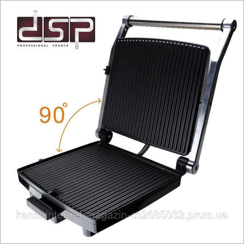 Электрогриль  прижимной гриль DSP KB1002, электрический гриль пресс