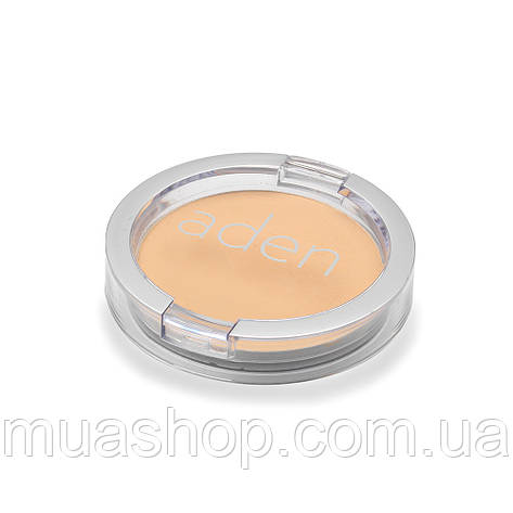 Aden Пудра 371 Face Compact Powder (01/Tan) 15 gr, фото 2