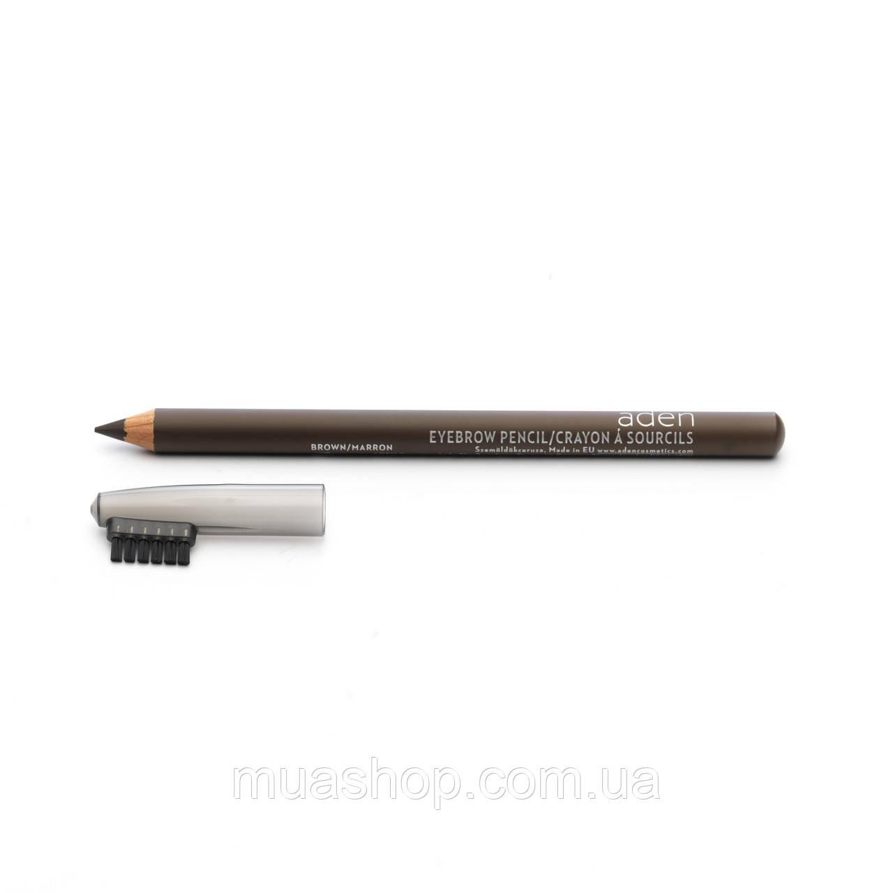 Aden Карандаш для бровей 076 Eyebrow Pencil (Brown) 1,14 gr