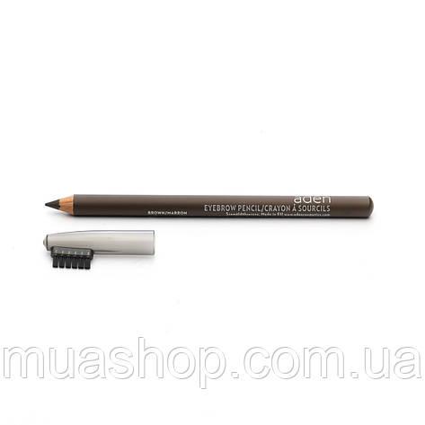 Aden Карандаш для бровей 076 Eyebrow Pencil (Brown) 1,14 gr, фото 2