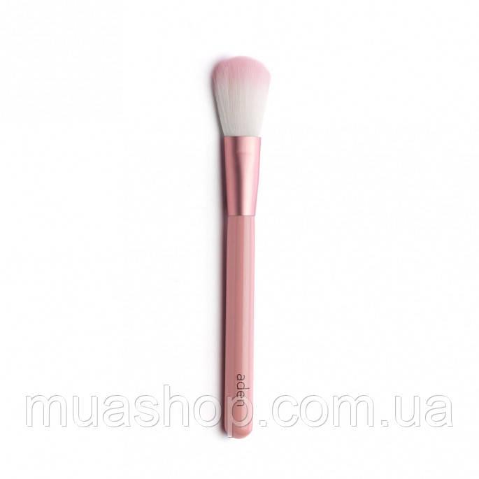 Aden Кисточка для пудры 082 Powder Brush (Pink)