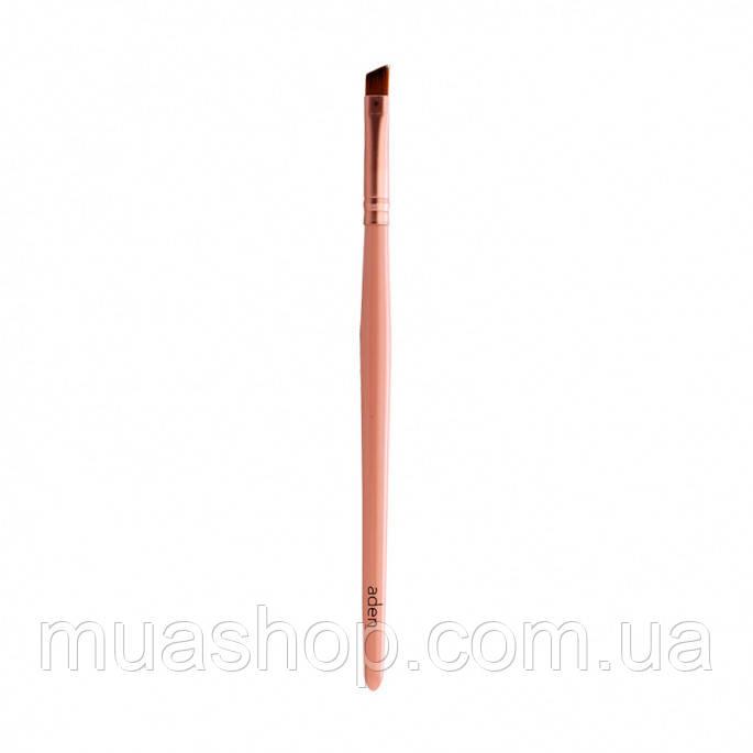 Aden Кисточка для бровей 087 Eyebrow Brush (Pink)