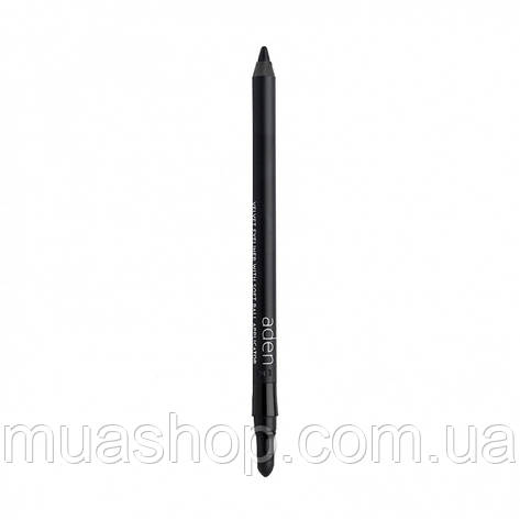 Aden Карандаш для глаз еффектом растушевания 065 SMOKY EYES Velvet Eyeliner (65/BLACK) 1,20 gr, фото 2