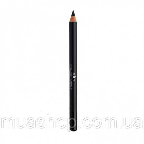 Aden Карандаш для глаз 000 Eyeliner Pencil (00/DEVIL) 1,14 gr, фото 2