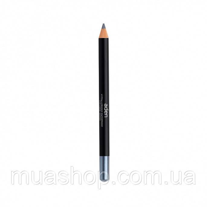 Aden Карандаш для глаз 002 Eyeliner Pencil (02/D.SILVER) 1,14 gr