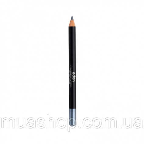 Aden Карандаш для глаз 002 Eyeliner Pencil (02/D.SILVER) 1,14 gr, фото 2