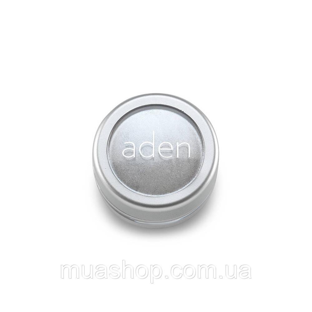 Aden Тени для глаз 7861 Pigment Powder/ Loose Powder Eyesh. (01/White) 3 gr
