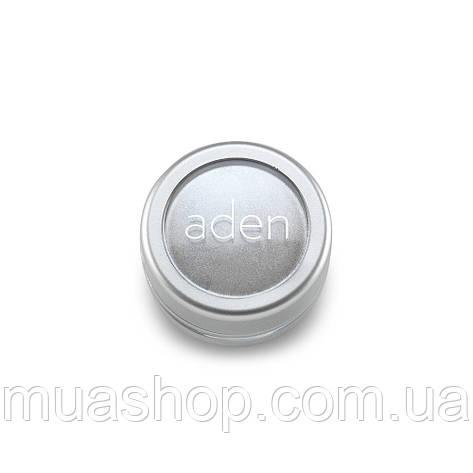 Aden Тени для глаз 7861 Pigment Powder/ Loose Powder Eyesh. (01/White) 3 gr, фото 2