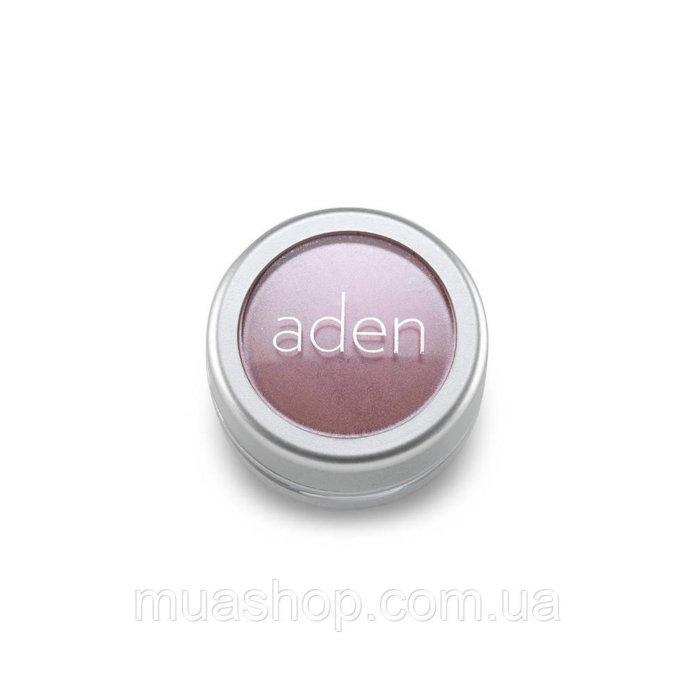 Aden Тени для глаз 7864 Pigment Powder/ Loose Powder Eyesh. (04/Pale Rose) 3 gr