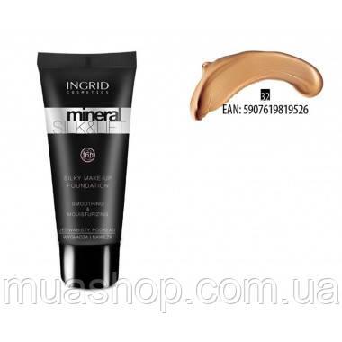 Увлажняющий и разглаживающий тональный крем Mineral Silk & Lift Ingrid №32