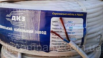 Кабель ПВС-нг 2х2,5, 100м