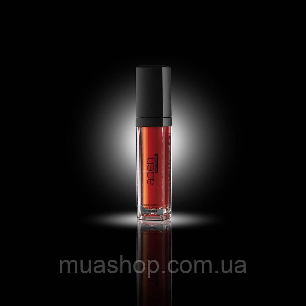 Aden Жидкая устойчивая помада Pro 291 Liquid Lipstick Pro (21/Coral)    4 ml