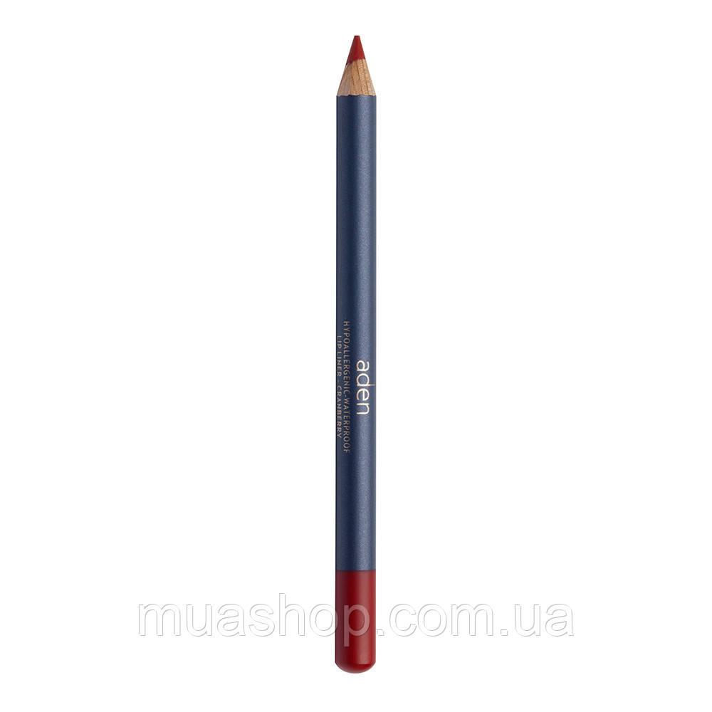 Aden Карандаш для губ 047 Lipliner Pencil (47/CRANBERRY) 1,14 gr