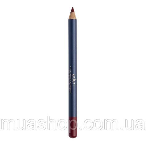 Aden Карандаш для губ 051 Lipliner Pencil (51/CURRANT) 1,14 gr, фото 2