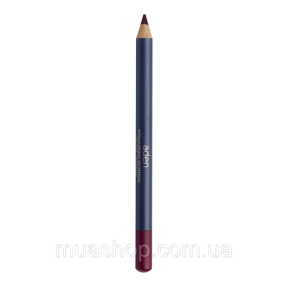 Aden Карандаш для губ 052 Lipliner Pencil (52/MAHOGANY) 1,14 gr