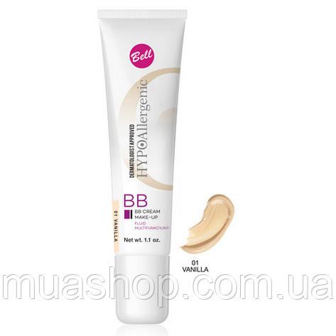 Bell ВВ крем-флюид HypoAllergenic BB Cream №01, фото 2
