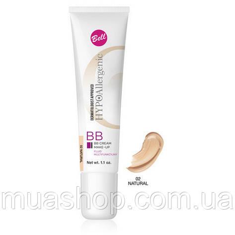 Bell ВВ крем-флюид HypoAllergenic BB Cream №02, фото 2