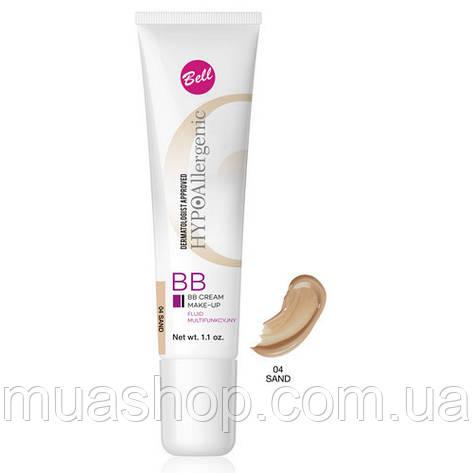 Bell ВВ крем-флюид HypoAllergenic BB Cream №04, фото 2
