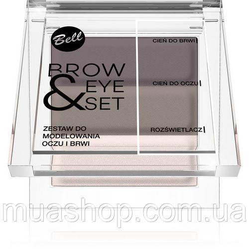 Набор для моделирования бровей и глаз №01 BROW&EYE SET