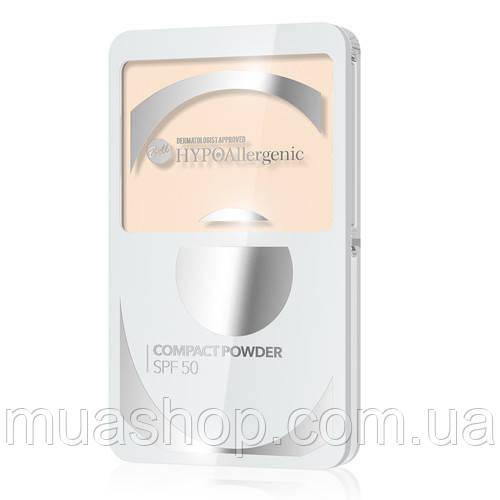 Пудра компактная №02 Compact Powder SPF 50 HypoAllergenic