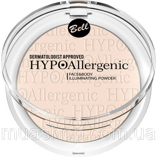 Пудра для лица и тела Face&Body Illuminating Powder HYPOAllergenic