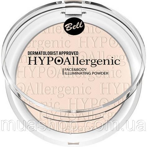 Пудра для лица и тела Face&Body Illuminating Powder HYPOAllergenic, фото 2