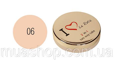 Крем - пудра для лица I Love La Rosa 2 in1 (LP- 910-6), фото 2