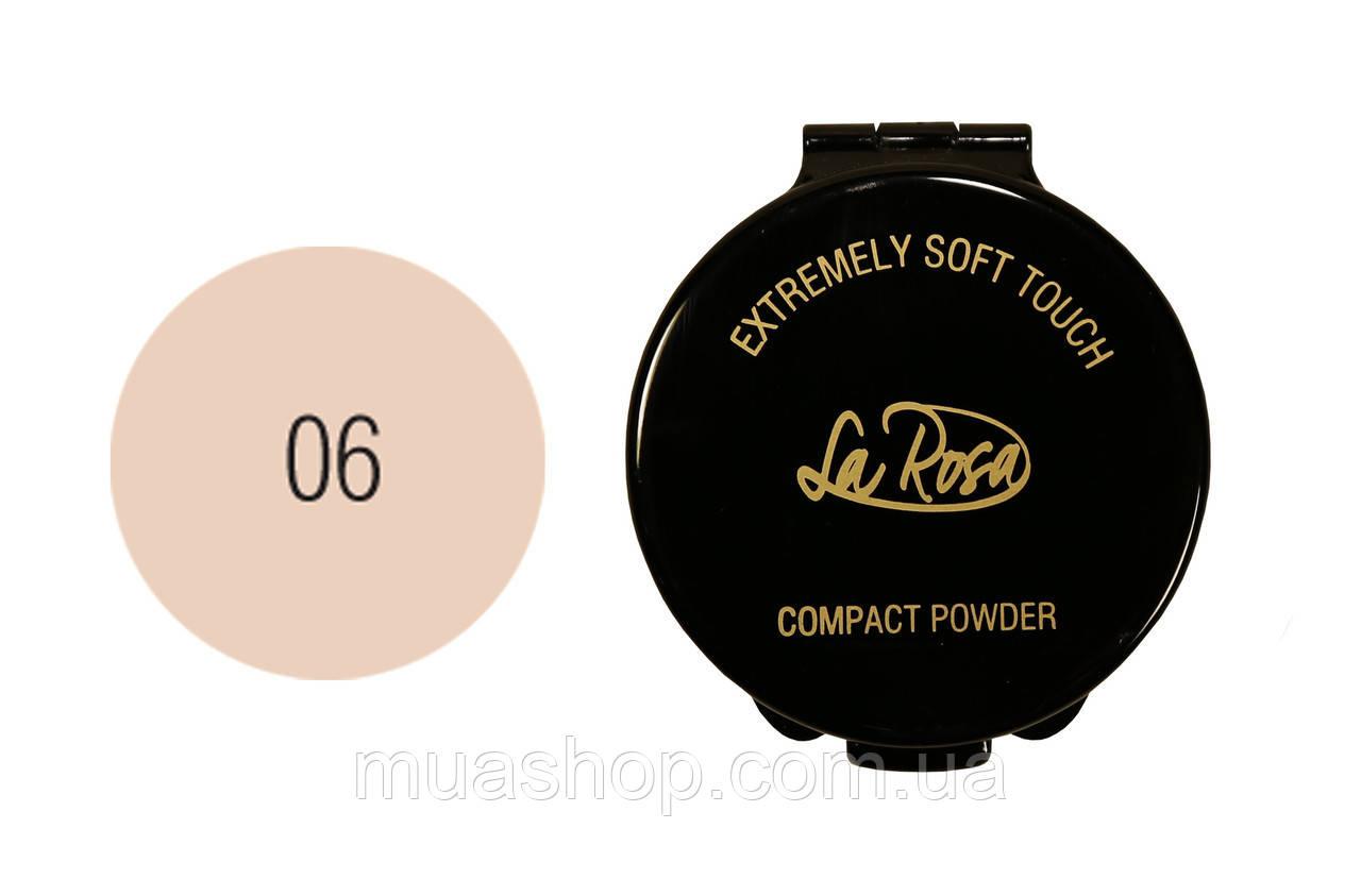 Пудра компактная La Rosa Extremely Soft Touch (LP 902-6)