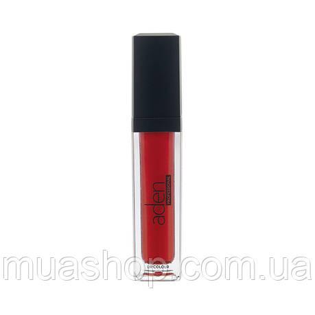 Aden 3D жидкая помада Plumping Lip Lacquer (Red №01), фото 2